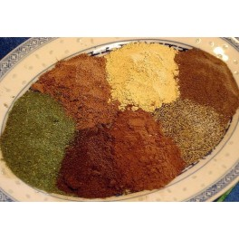 Seasoning: Sept épices (7 spices, Mixed Spices), boîte 500g, Abido