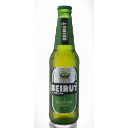Bière Pilsener, Beirut Beer,4.6°,  24x33cl - BEST DEAL