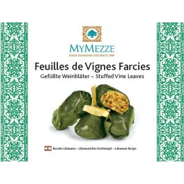 Feuilles de vigne farcies (Stuffed Vine Leaves), 280g, My Mezze, Easy-open and ready to eat!